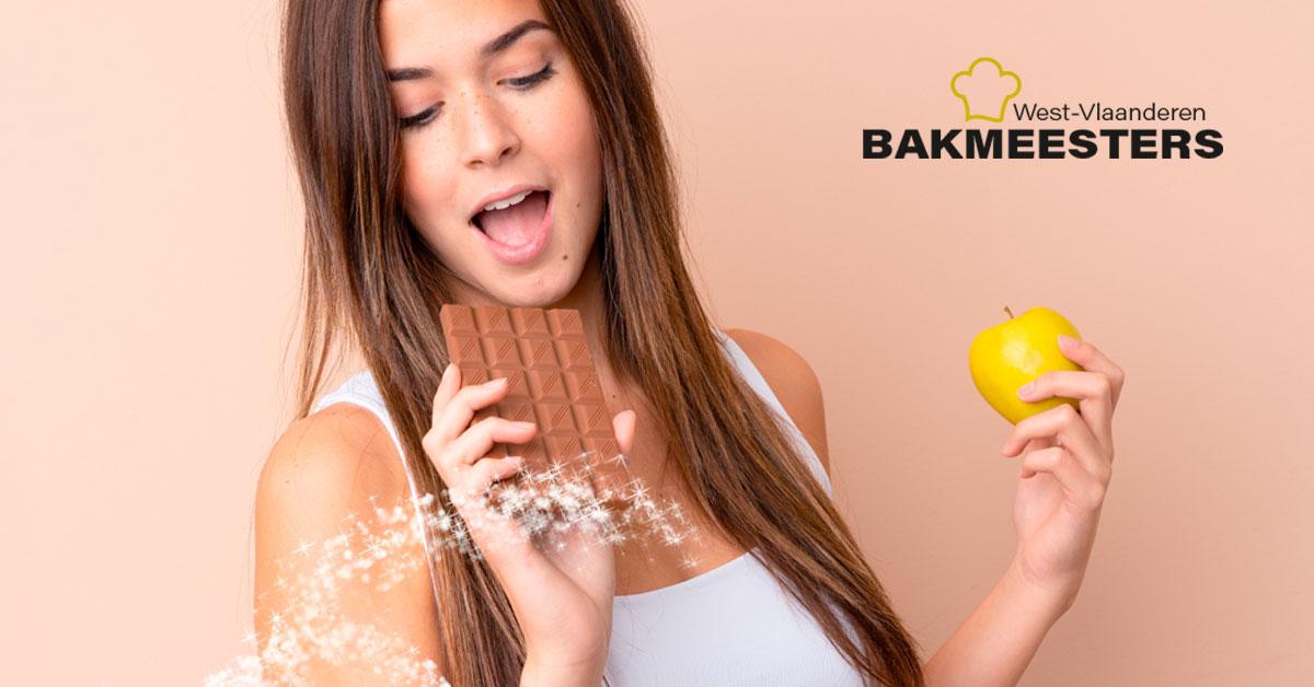Bakker in de buurt chocolade